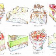 初夏のケーキ