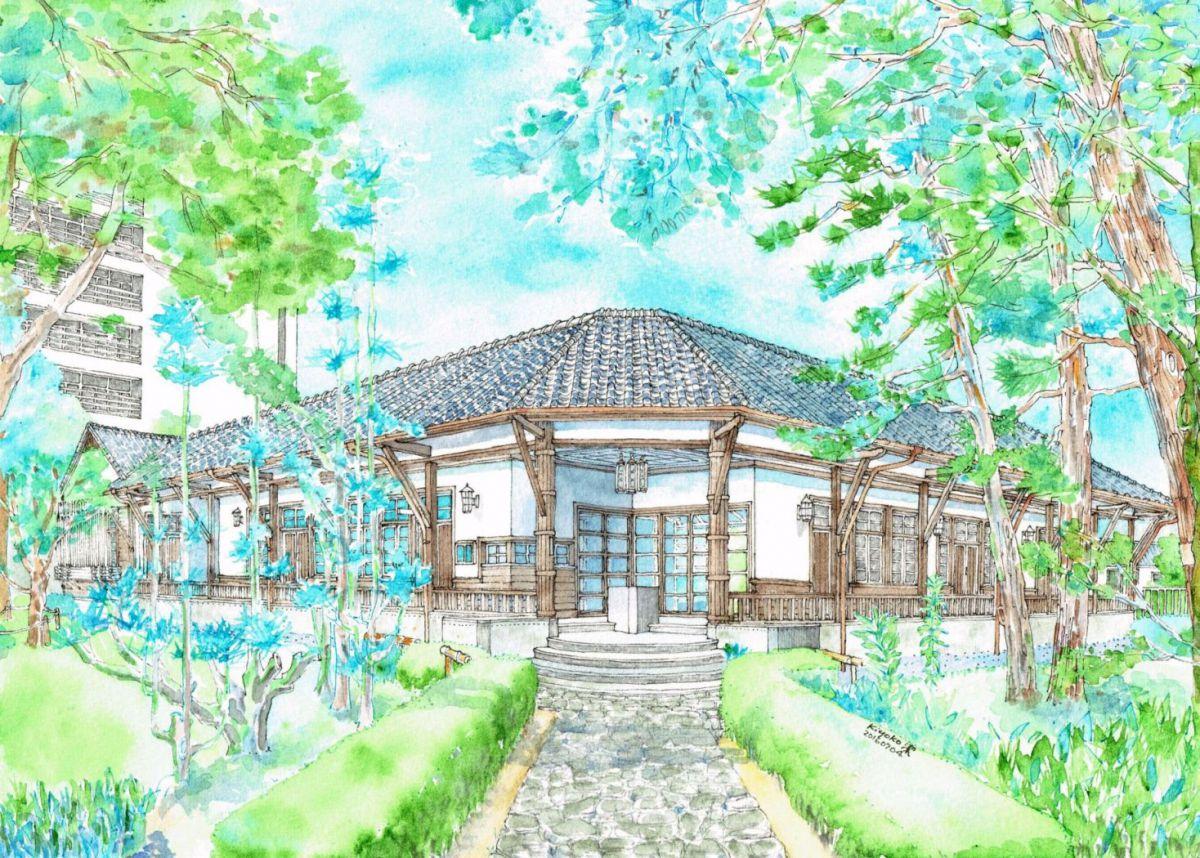 京都大学 旧演習林事務室