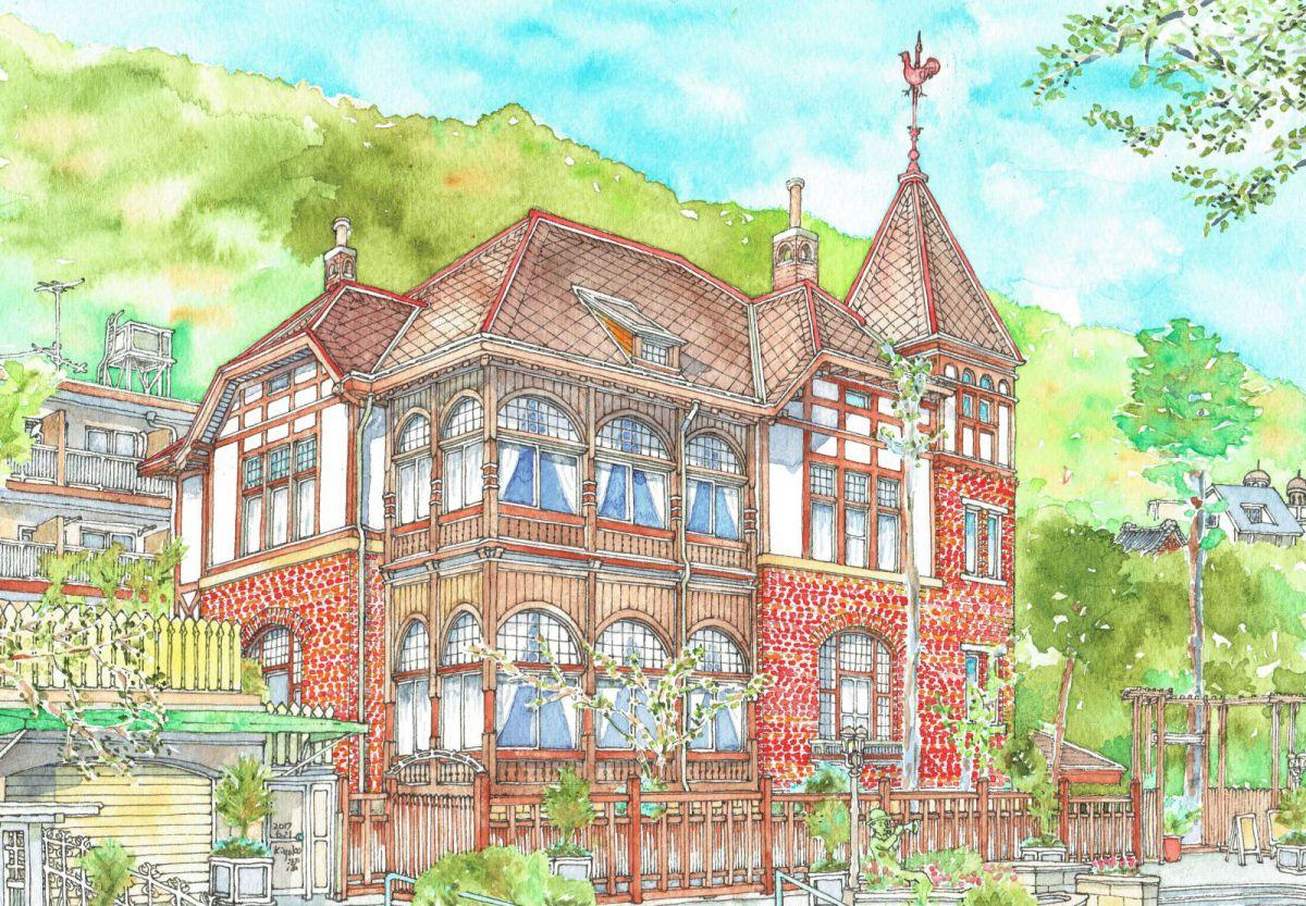 風見鶏の館(旧ゴットフリート・トーマス邸)