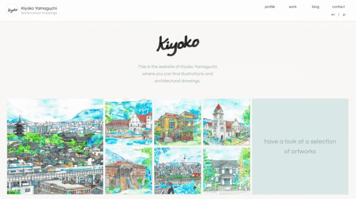kiyoko-yamaguchi.com screenshot