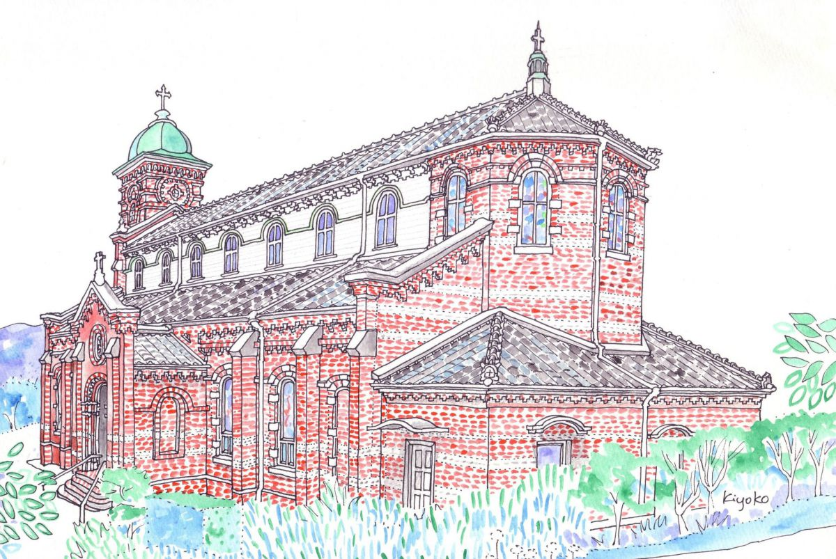 Tabira Catholic Church, Nagasaki