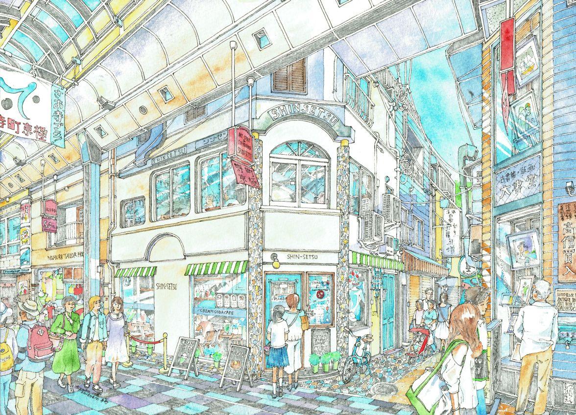 京都・寺町商店街 シンセツ