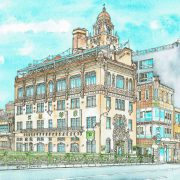 Toka Saikan restaurant buildin