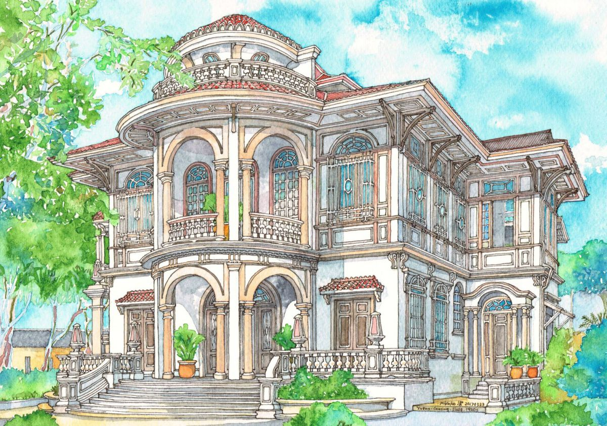 Yusay-Consing Mansion, Iloilo, Philippines