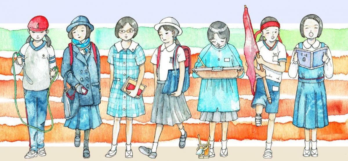 Japanese elementary school uniform – girls