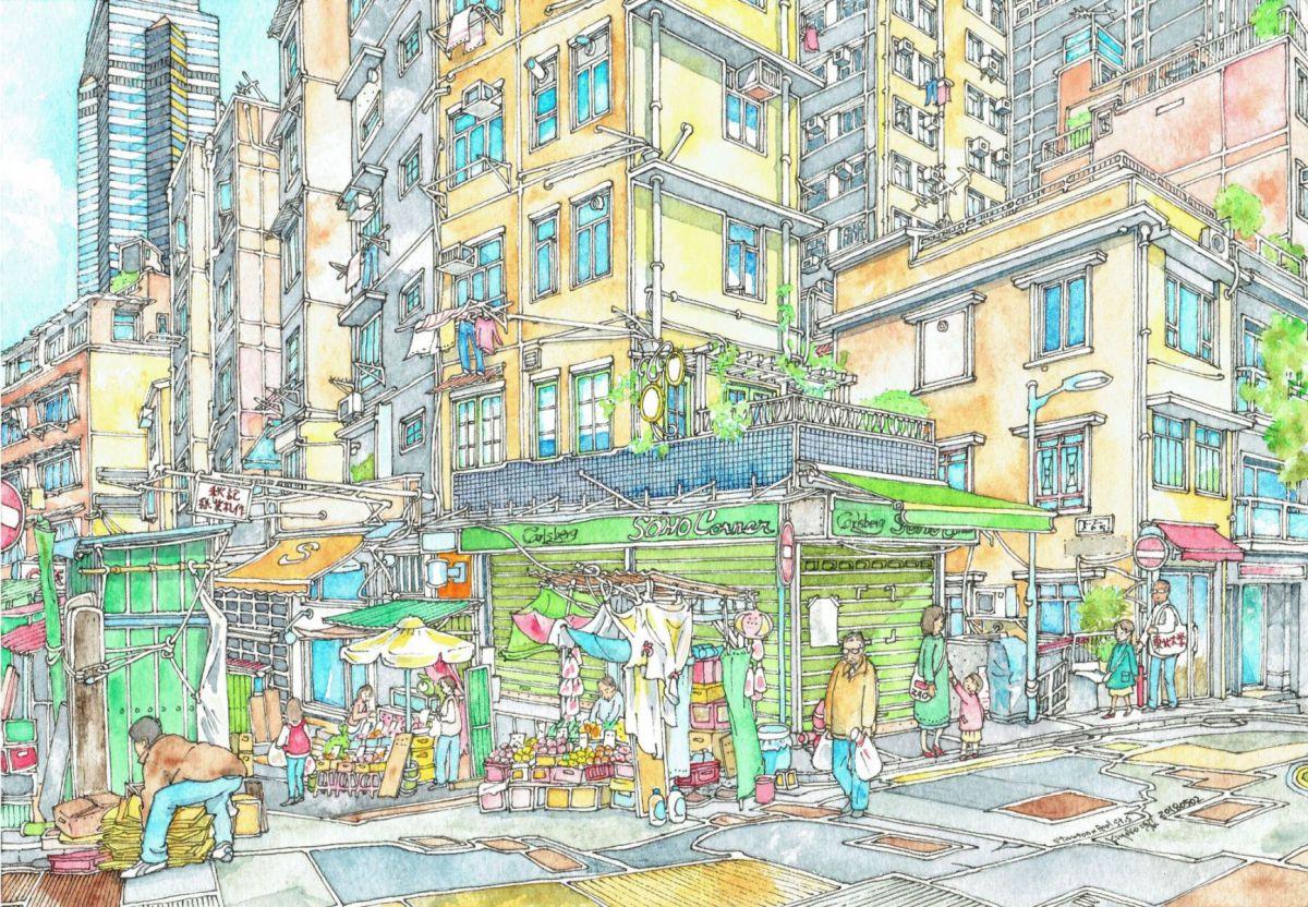 士丹頓街×卑利街