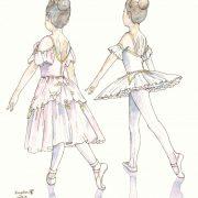ballerina M-chan, C-chan