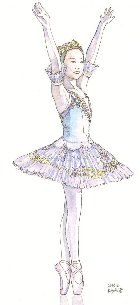 ballerina H-chan