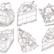 cakes (grey scale)