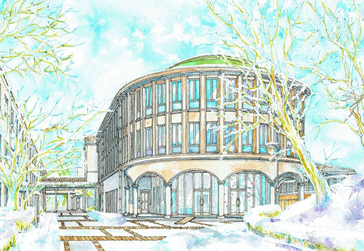 Marian Hall, old Seibo College