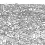 kyoto roof (mono)