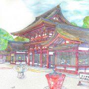近江神宮楼門