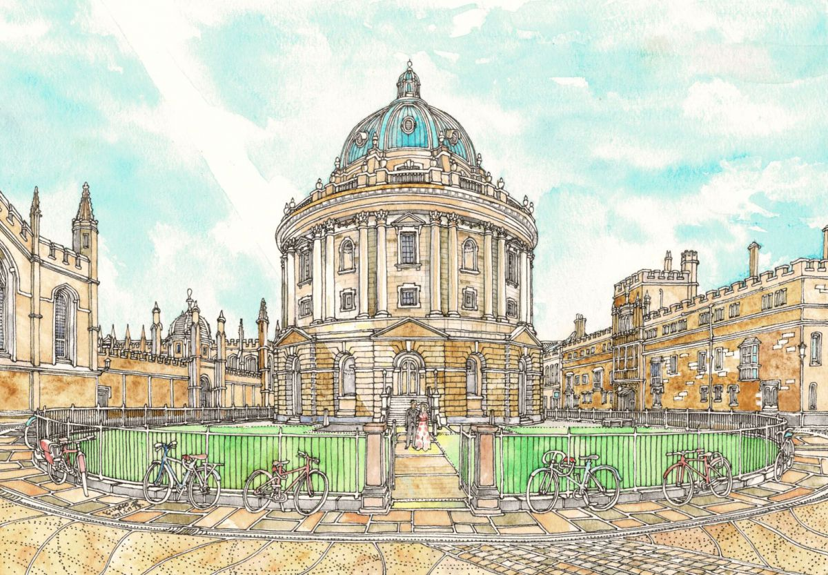 オックスフォード大学 ラドクリフ・カメラ図書館